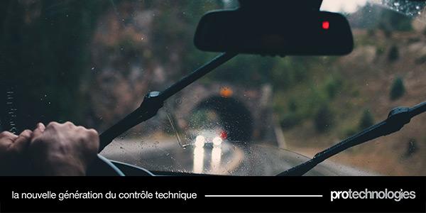 Conduire par temps de pluie
