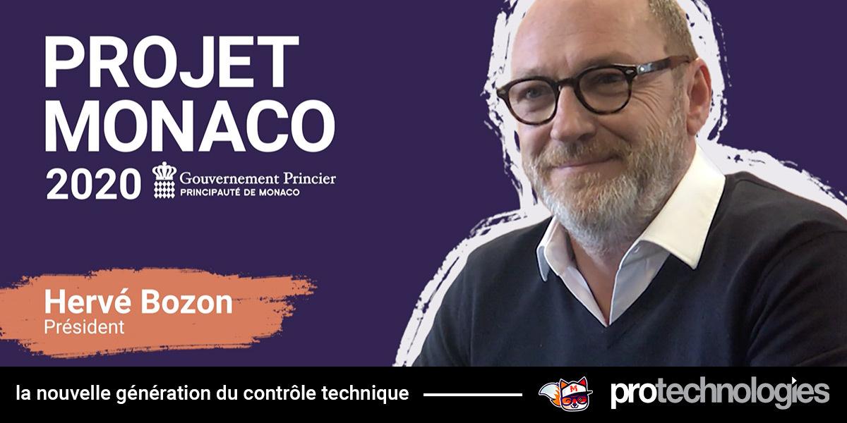 Projet Monaco - Interview avec Hervé Bozon !