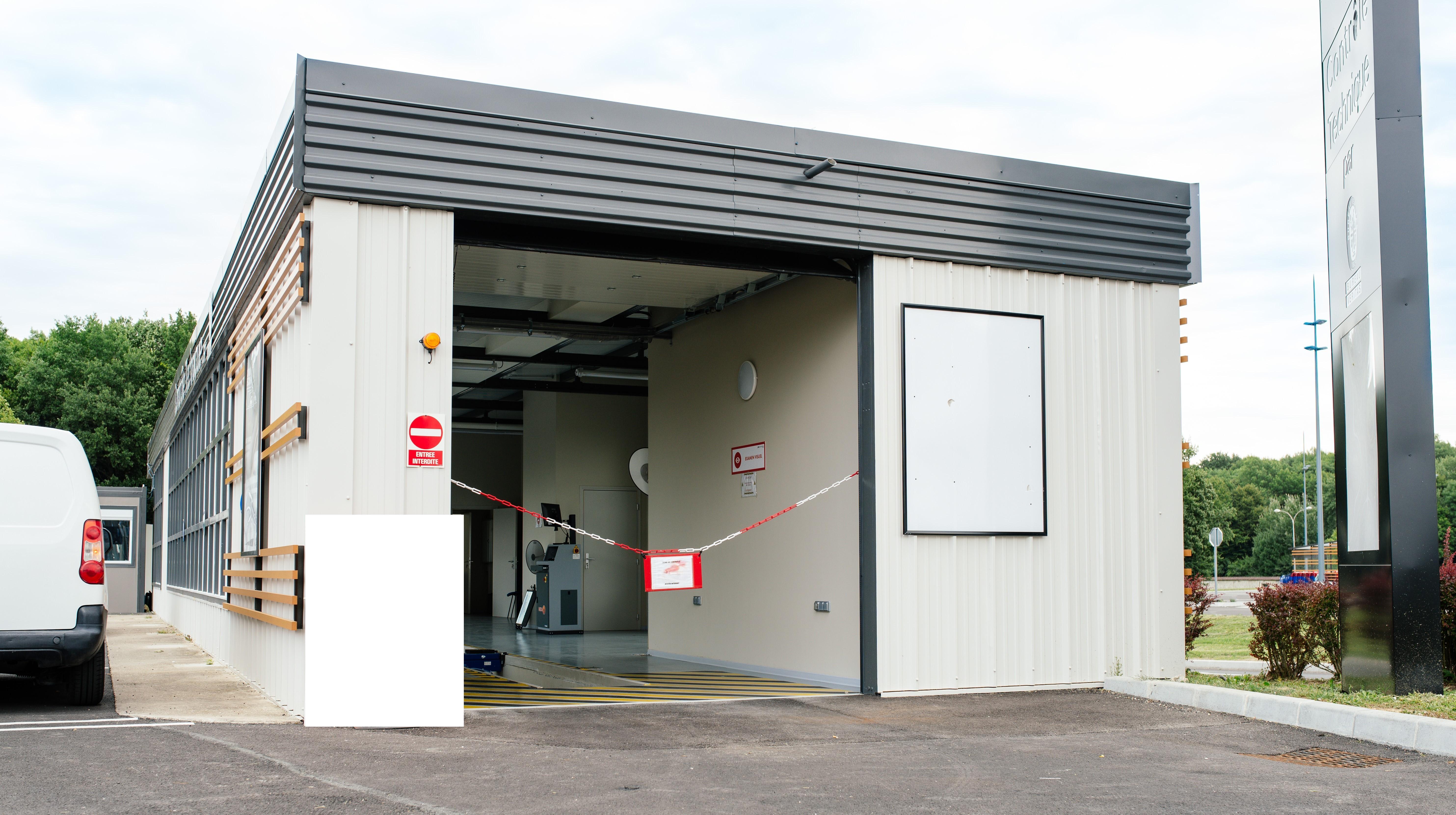 Exemple d'un centre de contrôle technique soumis à un audit initial d'une installation